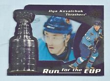 ILYA KOVALCHUK 2008/09 BLACK DIAMOND RUN FOR THE CUP # 100/100
