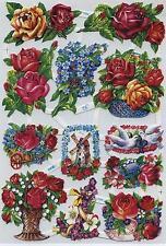 #glanzbilder # EF 7006, bonito flores-arco, reprint WS/WK-motive de los 50ern