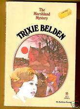 Trixie Belden  THE MARSHLAND MYSTERY 1ST Oval pb