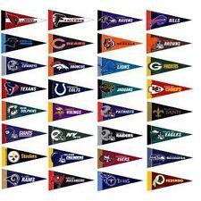 NFL Mini Pennant Set, All 32 NFL Teams, NEW
