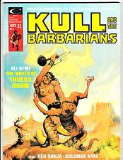 KULL AND THE BARBARIANS #2 (VF-) RED SONJA! Neal Adams Art 1975 Robert E Howard