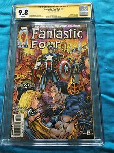 Fantastic Four v2 #3 - Marvel - CGC SS 9.8 NM/MT - Signed by Jim Lee