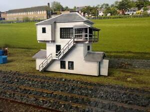 Gympie signal cabin HO scale laser kit