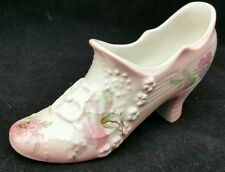 Vintage Old Foley China shoe, Victoria Rose Pattern, 12cm long x 7.5cm tall