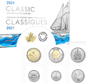 2021 Canada Specimen Coins Classic Mint Set Original. $2 $1 50c 25c 10c 5c