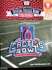 Official NCAA College Football Cactus Bowl 2016/17 Patch Baylor Boise State