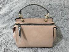 Melie Bianco Noelle Premium Vegan Leather Handbag Shoulder Crossbody Blush