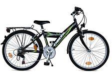 Cityfahrrad 24 Zoll Fahrrad 18 Gang Shimano StVZO Beleuchtung