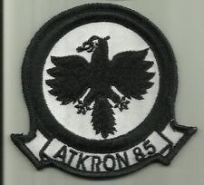 ATKRON 85 US.NAVY PATCH VA-85 BLACK FALCONS WAR AIRCRAFT PILOT AVIATION SAILOR