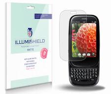 iLLumiShield Matte Screen Protector w Anti-Glare/Print 3x for Palm Pre Plus
