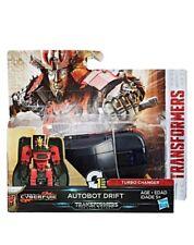 TRANSFORMERS The Last Knight Movie 1-Step Turbo Changer Autobot Drift NEW - RARE