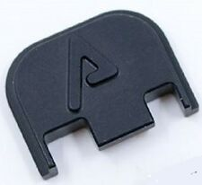 """Agency Arms """"A"""" Backplate for Glock 43 / 43x / 48 - All Black"""