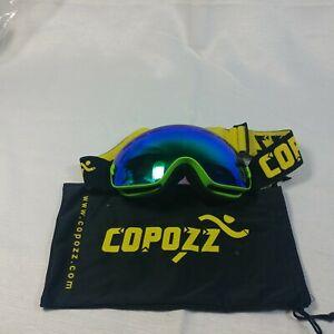 COPOZZ Kids Ski Goggles, G3 Kids Snow Snowboard Goggles - Helmet Compatible Over