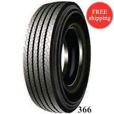 2 New 295/80R22.5 J/18PR 154/151 - Steer All Position Truck Tire 29580225 (#366)