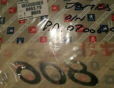 Genuine Peugeot 806 Rear Decal / Emblem 8663YS