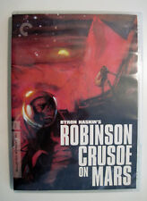 Robinson Crusoe on Mars (DVD, 2007) Criterion Collection USED Like New