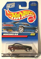 Hot Wheels Mattel Mercedes-Benz SLK Car Metallic Blue India  #1025