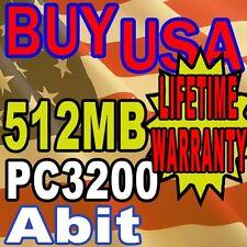 512mb Abit KD7A KD7-G KD7-RAID KN8 SLI RAM Memory