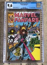 Marvel Fanfare #11 CGC 9.6 Black Widow First Appearance of Iron Maiden