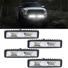 4X 48W LED Arbeitscheinwerfer 16LEDs Flutlicht Nebel Lampe Strahler SLKW SUV 12V