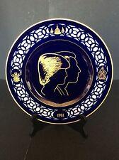 COMMEMORATIVE PLATE B&G COPENHAGEN PORCELAIN DENMARK COBALT BLUE PLATE 8257/231