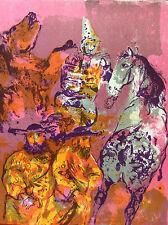 Walter Spitzer lithograhie originale Les Noyers de l'Altenburg Malraux 2