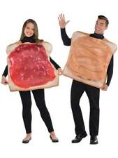 Peanut Butter PB And Jelly Jam Food Tunic Fancy Dress Couples Funny Costume
