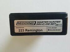 29111 REDDING MASTER HUNTER DELUXE DIE SET - 223 REMINGTON - NEW - FREE SHIP!