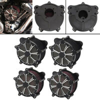 Aluminum CNC Air Cleaner Intake Filter Kits For Harley Touring Dyna Softail FXST