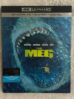 THE MEG (2018) - 4K Ultra HD UHD disc only (No Blu-ray Digital Copy)