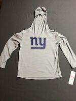 NFL Boys New York Giants Light Performance Hoodie Youth Size S 6/7 (E
