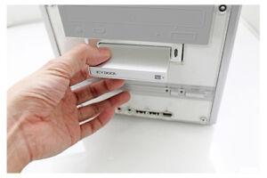 "2.5"" USB2 Hard Drive Enclosure with Docking station"