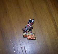 DEWARS ROCKS PIN - NEW - ONLY 2 LEFT - PRICE IS FOR 1 ONLY BUT CAN COMBINE