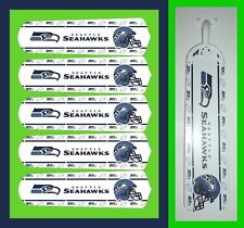 "NFL SEATTLE SEAHAWKS TEAM LOGOS CEILING FAN REPLACEMENTS BLADES 52""-5 BLADES"