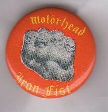 MOTORHEAD Iron Fist BUTTON BADGE - ENGLISH CLASSIC ROCK BAND   LEMMY 25mm PIN