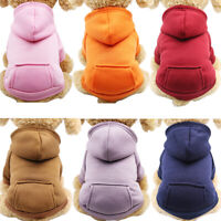 Dog Hoodies Pet Clothes For Dogs Coat Jackets Cotton Dog Clothes Puppy Costum PM