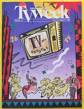 Television in Spanish TV EN ESPANOL Chicago Tribune TV Week guide Jul 31 1988