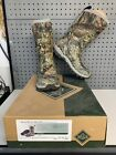 Woman's Muck Boots Arctic Hunting Mid Mossy Oak Camo Boots Size 8 EUC