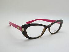 NEW Authentic VERSACE Mod. 3223 5148 Tortoise/Fuchsia 53mm RX Eyeglasses
