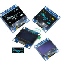 """0.96""""/1.3'' inch 128X64 OLED LCD SPI Display Serial Screen Module Arduino UNO R3"""
