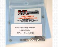 RTL Fasteners RC Parts M2 Flat Washers (50) MF020 Fly Sky