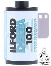 Ilford Delta 100 - 36 poses - Noir & Blanc - Pellicule Argentique 35mm - Photo