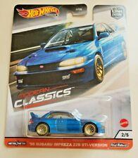 Hot Wheels 98 Subaru Impreza 22B STi-Version Blue #2 Modern Classics 2/5
