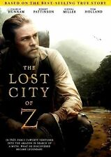 The Lost City of Z (2017) DVD *NEW MOVIE* NOW SHIPPING