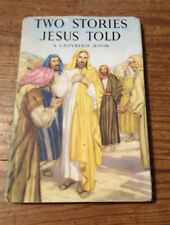 Vintage 1956 Ladybird Book 'Two Stories Jesus Told' Series 522 Dust Jacket VGC