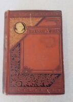 The History Of Pendennis Thackeray 1882 HC Belford Clark & Company Chicago