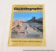 American Cinematographer-June 1983 The Return of the Jedi  Flash Gordon Serials!