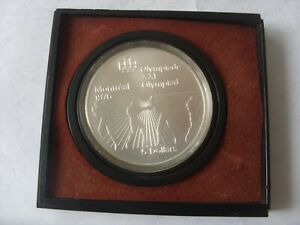 5 SILVER DOLLARS 1976 CANADA  OLYMPICS BOXING   PROOF