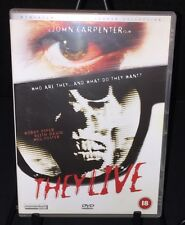 THEY LIVE Roddy Piper John Carpenter R2 DVD Momentum Pictures Horror Collection