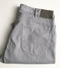 Bonobos Travel Jeans, Straight Fit, Size 34 x 34, Stretch Cotton, Gray, EUC